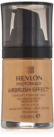 Revlon PhotoReady Airbrush Effect Makeup, Medium Beige