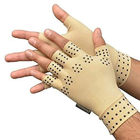Health Tool Set Arthritis therapy gloves Relief Arthritis Pressure Pain Heal Joints Magnetic Therapy Gloves support Hand Massag