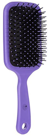TS Hair Comb/Paddle Brush, Fibre, (Purple), Men And Women