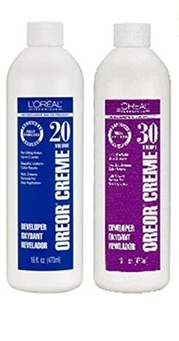 L'Oreal Oreor Creme 40 Volume Developer, 16 oz