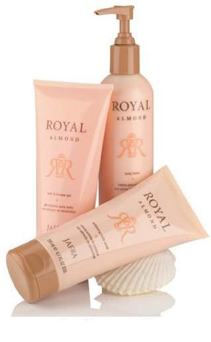 Jafra Royal Almond Body Care Set