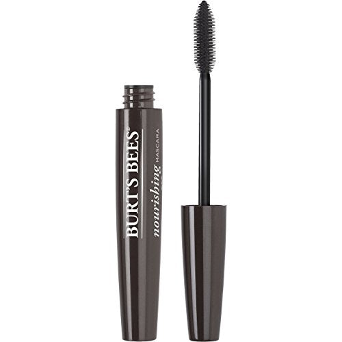 Burts Bees 100% Natural Nourishing Mascara, Black Brown   0.4 Ounce (Pack Of 2)