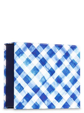 Bath and Body Works GINGHAM Mini Gift Box Set Set 3-pc Travel Size arranged in an gift box with a ribbon.