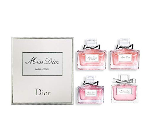 Dior Miss Dior La Collection for Women 4 X 5ml Mini Set, multi-color, 0.68 ounce (CDC099600039)