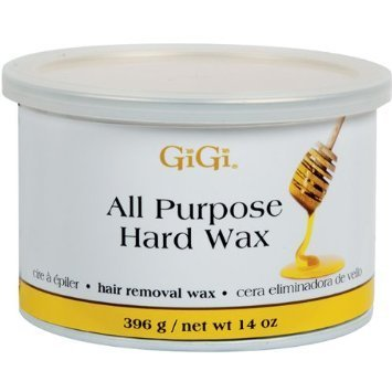 GiGi All Purpose Hard Wax - Honee Hard 14 oz. (Pack of 2)