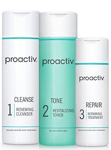 Proactiv Solution 3 Step Pro Acne Treatment System (60 Day Original Acne Kit)