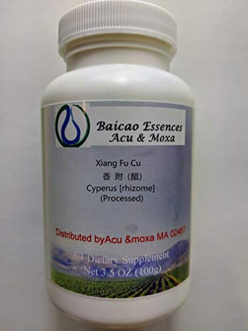 Cyperus [rhizome](processed) Xiang Fu (Cu) Concentrated Granules 100g by Baicao