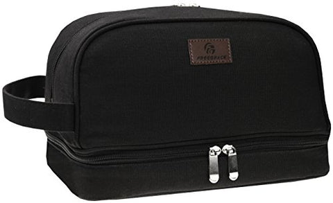 Canvas Toiletry Bag   Large Dopp Kit For Men & Women   The Perfect Travel Essentials Organizer â?? I