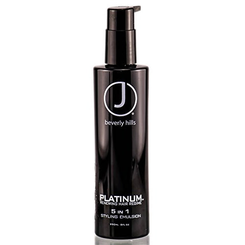 J Beverly Hills Platinum 5 in 1 Styling Emulsion 8 fl.oz.