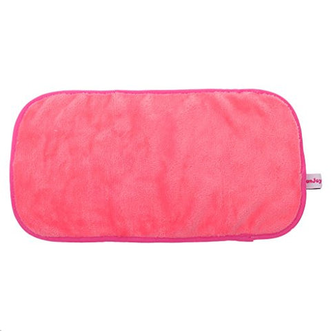 Inzopo Generic Microfibre Face Cloth of Makeup Removal of Cleaning Washcloth Towels, Makeup Makeup Accessory rosa Rosso