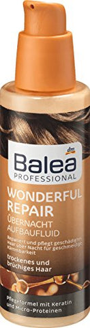 Balea Professional Overnight Build-Up Fluid Wonderful Repair, 100 ml (pack of 2) - German product