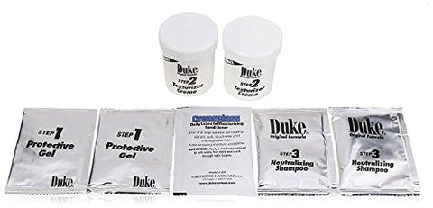 Duke Texturizing Creme Kit for Men Ultimate | Easy To Use for Resistant Hair, 2 Count