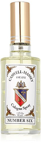 Caswell Massey Number Six Cologne Spray â?? Aromatic Blend Of Orange Blossom, Bergamot And Rosemary