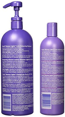 Clairol Shimmer Lights Shampoo and Conditioner