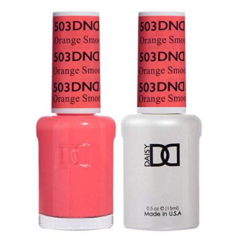 DND Gel & Matching Polish Set #503 - Orange Smoothie