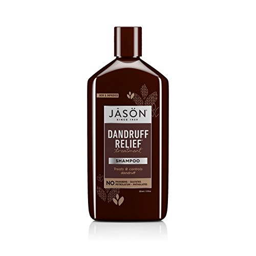 Jason Natural Cosmetics Dandruff Relief Shampoo 12 oz (Pack of 3)