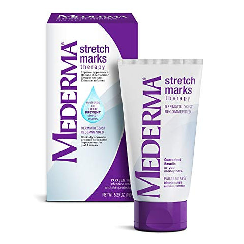 Mederma Stretch Marks Therapy - Hydrates to Help Prevent Stretch Marks - Clinically Shown to Produce Noticable Improvement in 4 Weeks- Dermatologist Recommended - 5.29 oz