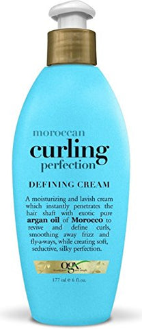 Organix Moroccan Curling Perfection Defining Cream, 6 - Ounce