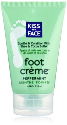 Kiss My Face Foot Creme, 4-Ounce Tubes (Pack of 2)