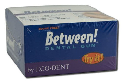 Eco Dent Wintermint Between Dental Gum - 12 per pack - 12 packs per case.