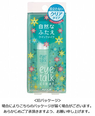 Koji Eyetalk Double Eyelid Adhesive Glue-Clear Type, 7ml