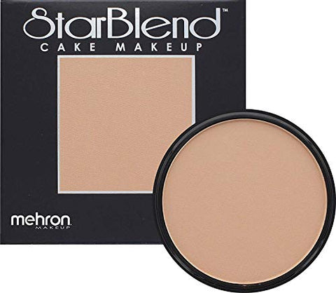 Mehron Makeup StarBlend Cake (2 oz) (Light Tan)