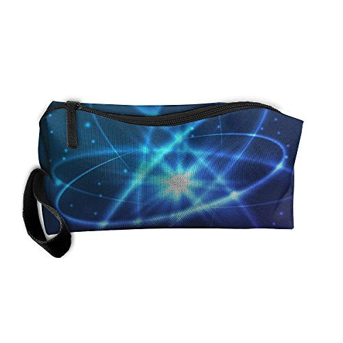 TO-JP Science Element Pouch Portable Toiletry Bag Cosmetic Makeup Organizer