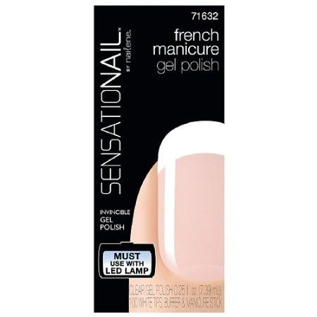 SensatioNail by Nailene French Manicure Gel Polish Clear, Clear, 1 ea by CoCo-Shop
