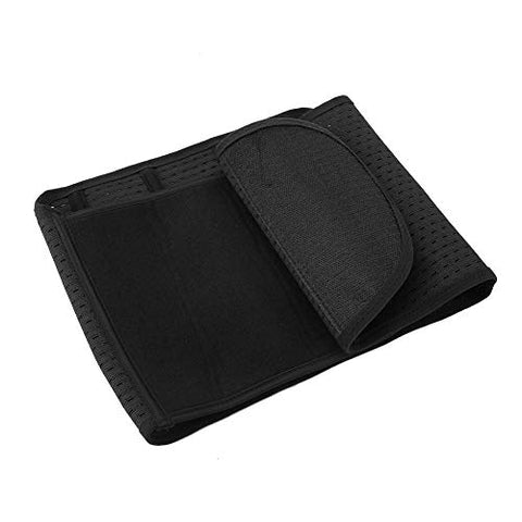 Breathable Waist Wrap Belly Belt Back Posture Corrector for Improving Posture for Shoulders for Daily Use for Person Care(black)