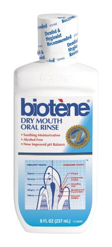 Biotene Dry Mouth Mouthwash, 16-Ounce (Pack of 6)