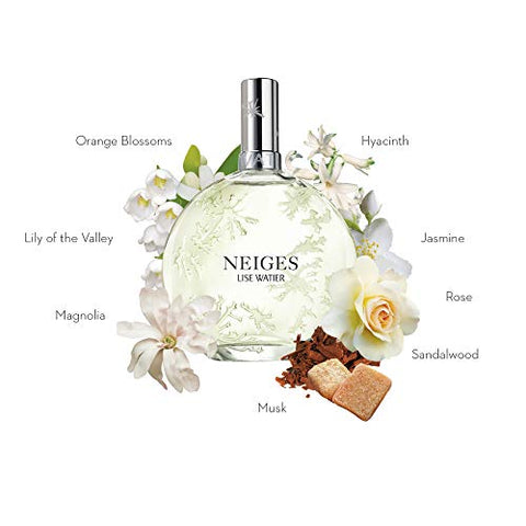 Lise Watier Neiges Eau de Toilette Spray, 1.7 fl oz