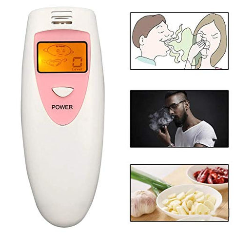 Hvlystory Bad Breath Detector Oral Hygiene Condition Tester Mouth Internal Deodorant Meter Tools