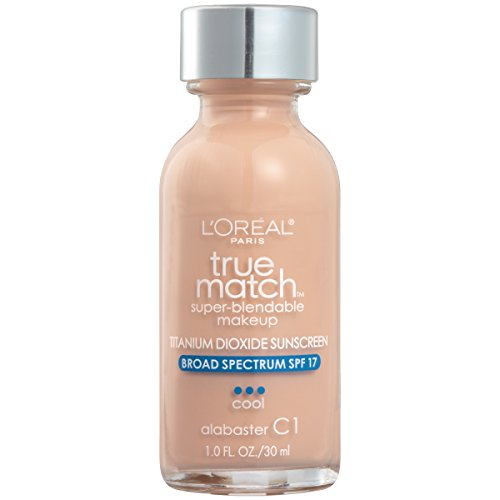L'oreal Paris Makeup True Match Super Blendable Liquid Foundation, Alabaster C1, 1 Fl Oz,1 Count