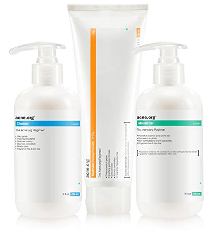 The Acne.org Regimen - Complete Acne Treatment Kit
