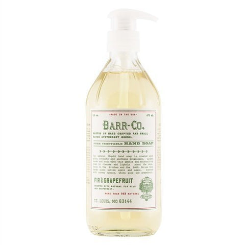 Barr-Co. - Fir & Grapefruit Liquid Hand Soap