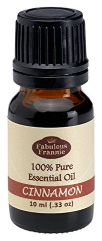 Cinnamon Leaf 100% Pure, Undiluted Essential Oil Therapeutic Grade By Fabulous Frannie