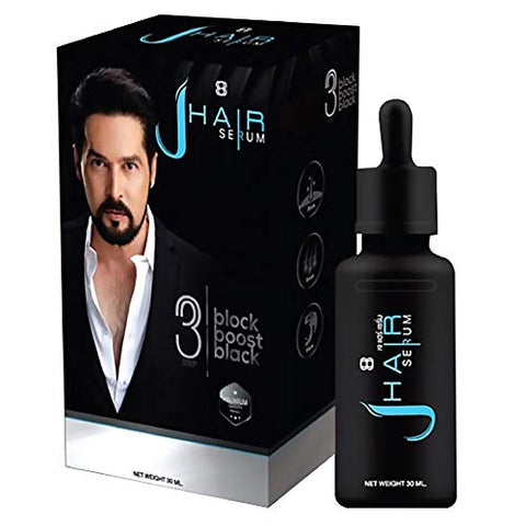 J-Hair Serum Gel Hair Serum Grow hair Grow Mustache Natural Extract 30ml. By TGS