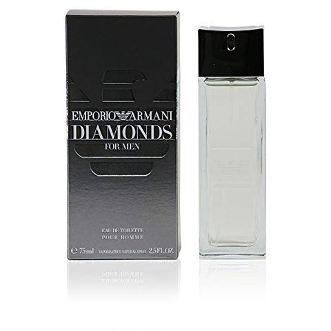 Giorgio Armani Emporio Armani Diamonds Eau de Toilette Spray for Men, 1 Ounce
