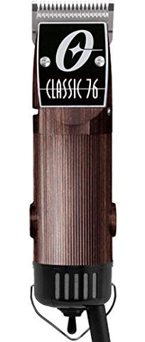 Oster Classic 76 Hair Clipper Professional Pro Salon Wood Wooden Color
