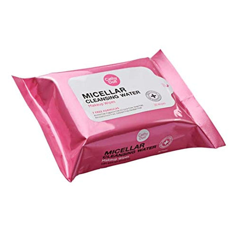 #MG CATHY DOLL Micellar Cleansing Water Make Up Wipes 30 Sheets -Makeup wipes offers a soft touch and dissolves makeup, oil and impurities on the face effectively.