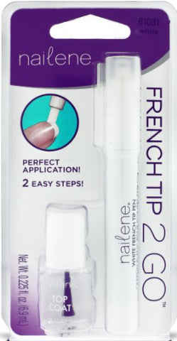 Nailene Purple French Tip Nail Pen with Topcoat