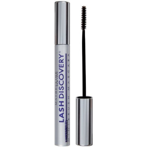 Maybelline New York Lash Discovery Washable Mascara, Very Black [351] 0.16 oz (Pack of 9)