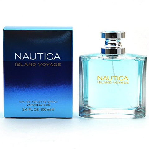 Nautica Island Voyage by Nautica for Men Eau De Toilette Spray 3.4-Ounce
