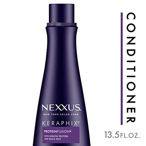 Nexxus Keraphix Conditioner For Damaged Hair Keraphix With Protein Fusion Silicone Free With Keratin