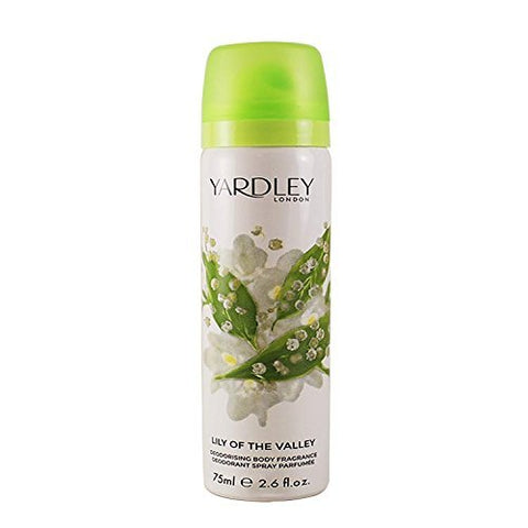 Yardley London Lily of the Valley Body Spray 75ml by YardleyLondon
