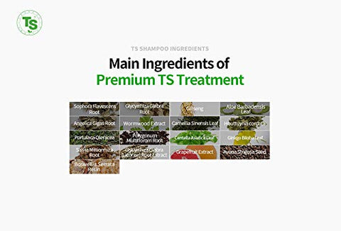 Premium TS Treatment (6.8 Fl Oz) | Therapy for Dry, Damaged hair and Scalp| Phytoncide Scent with Essential Oil & Biotin & Natural Ingredients | Sulfate Free | Men & Women (All Hair Types)