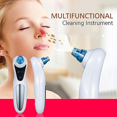 MIJNUX New Electric Blackhead Instrument Electric Beauty Instrument to Blackhead Artifact Pore Cleaner Face