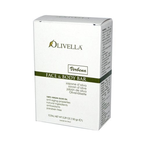 Olivella Bar Soap Verbena Fragrance - 5.29 oz, 8 Pack