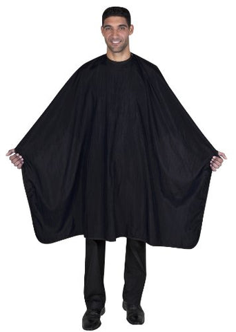 Betty Dain Premier Barber Cutting/Styling Cape, Black