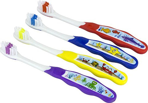 Plak Smacker - Ocean Pals Super Soft Kids Toothbrush (12 Pack)